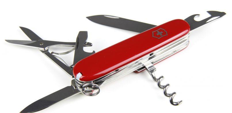 Des astuces pour entretenir un couteau suisse