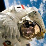Selfie in the space is so fun