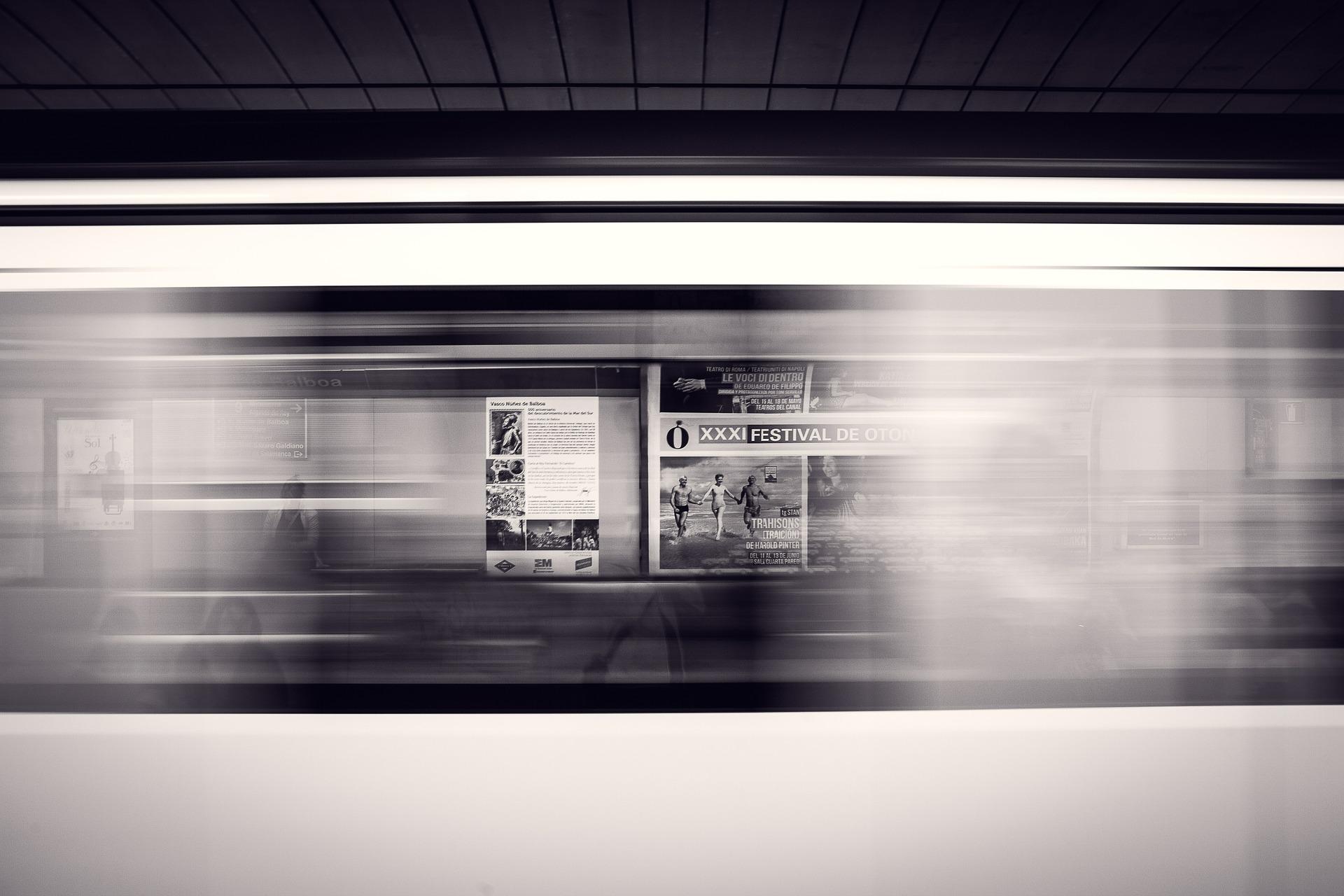 affiches publicitaires en intérieur